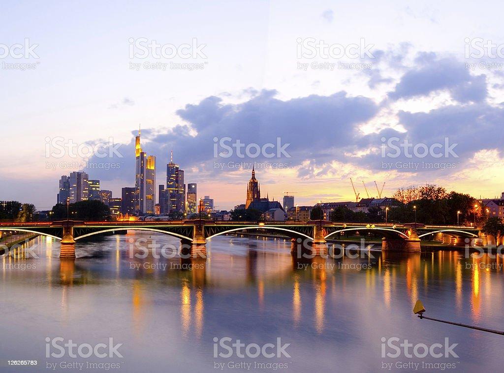 Frankfurt am Main royalty-free stock photo