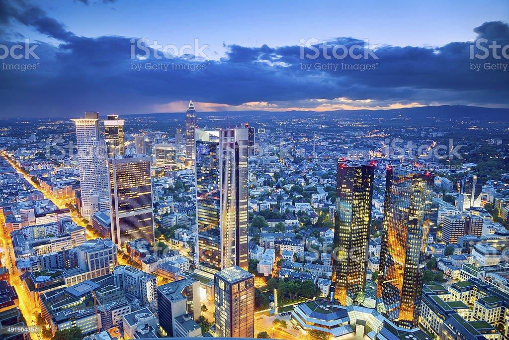 Frankfurt am Main. stock photo