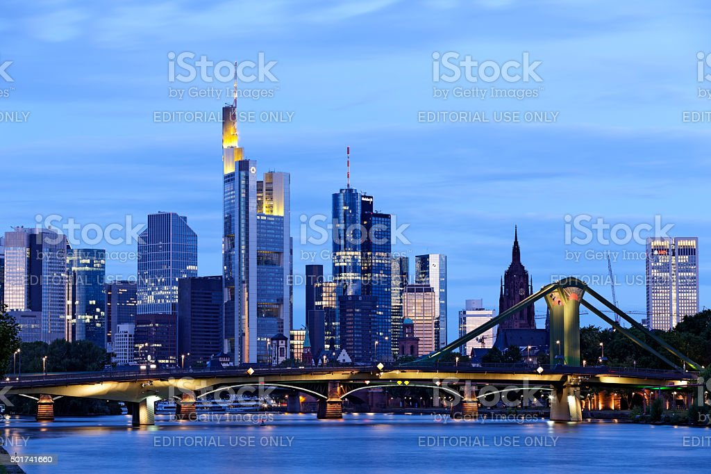 Frankfurt am Main stock photo
