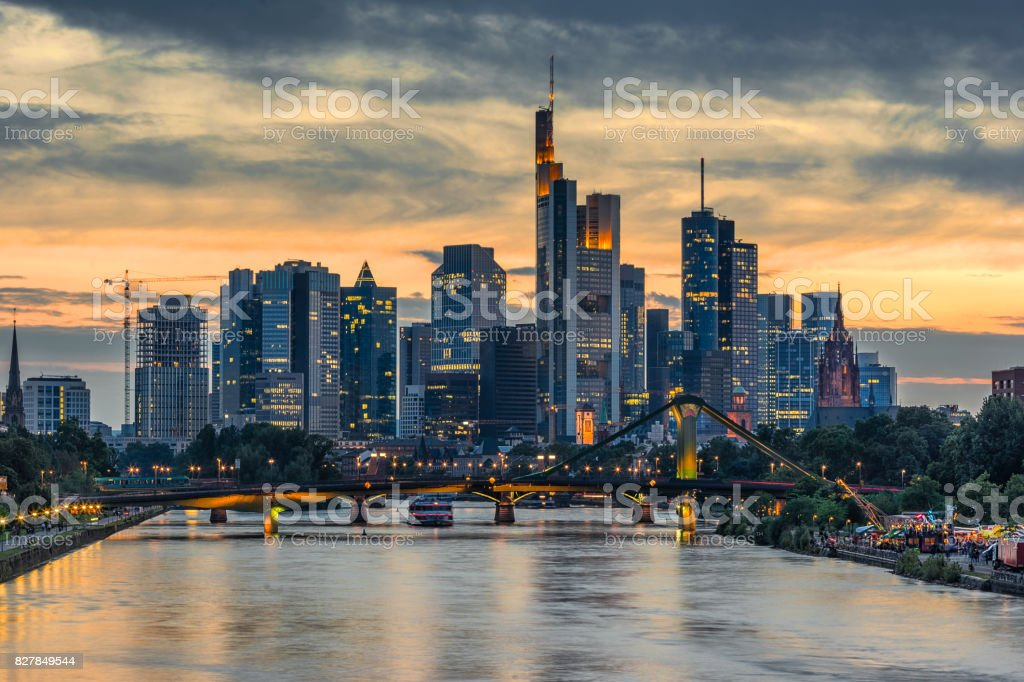 Frankfurt Am Main stock photo