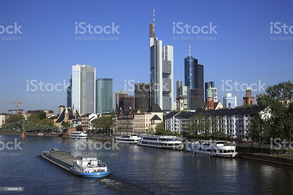 Frankfurt, Germany royalty-free stock photo