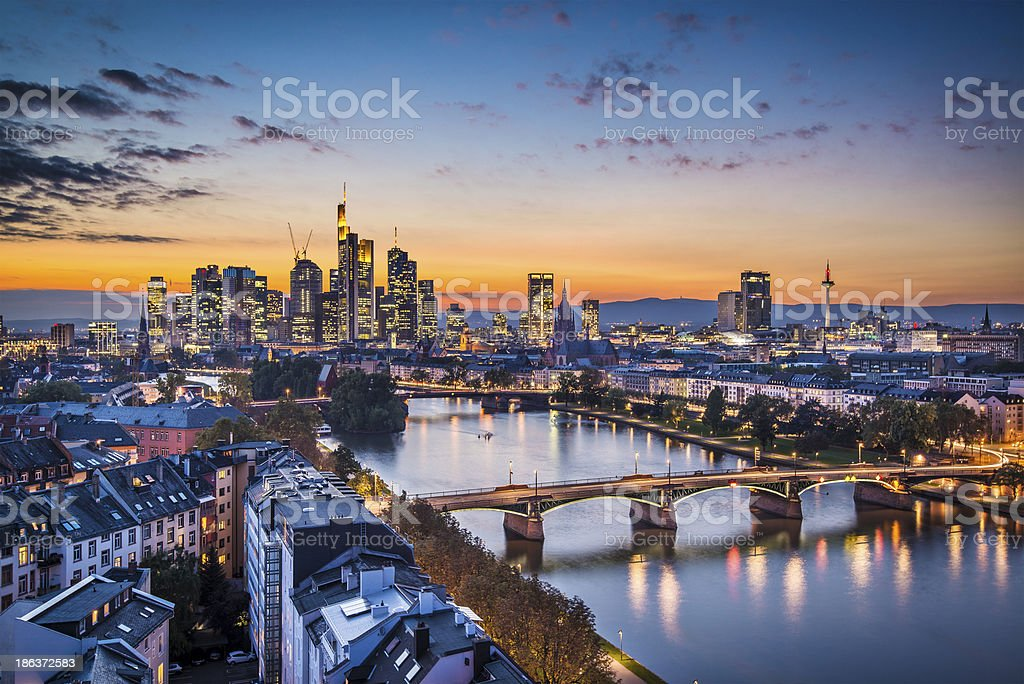 Frankfurt Germany royalty-free stock photo