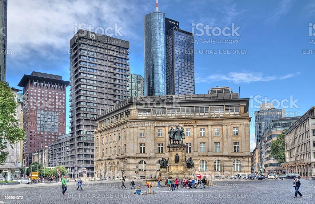 Frankfurt, Germany stock photo