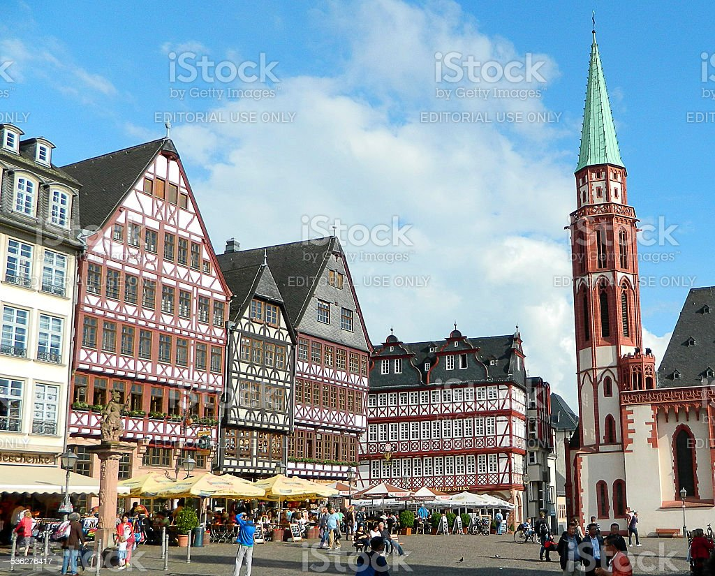 Frankfurt, Germany stock photo