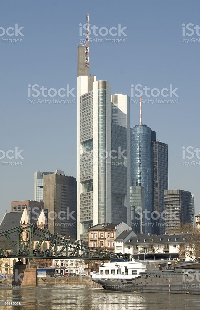 Francoforte, Germania. foto stock royalty-free