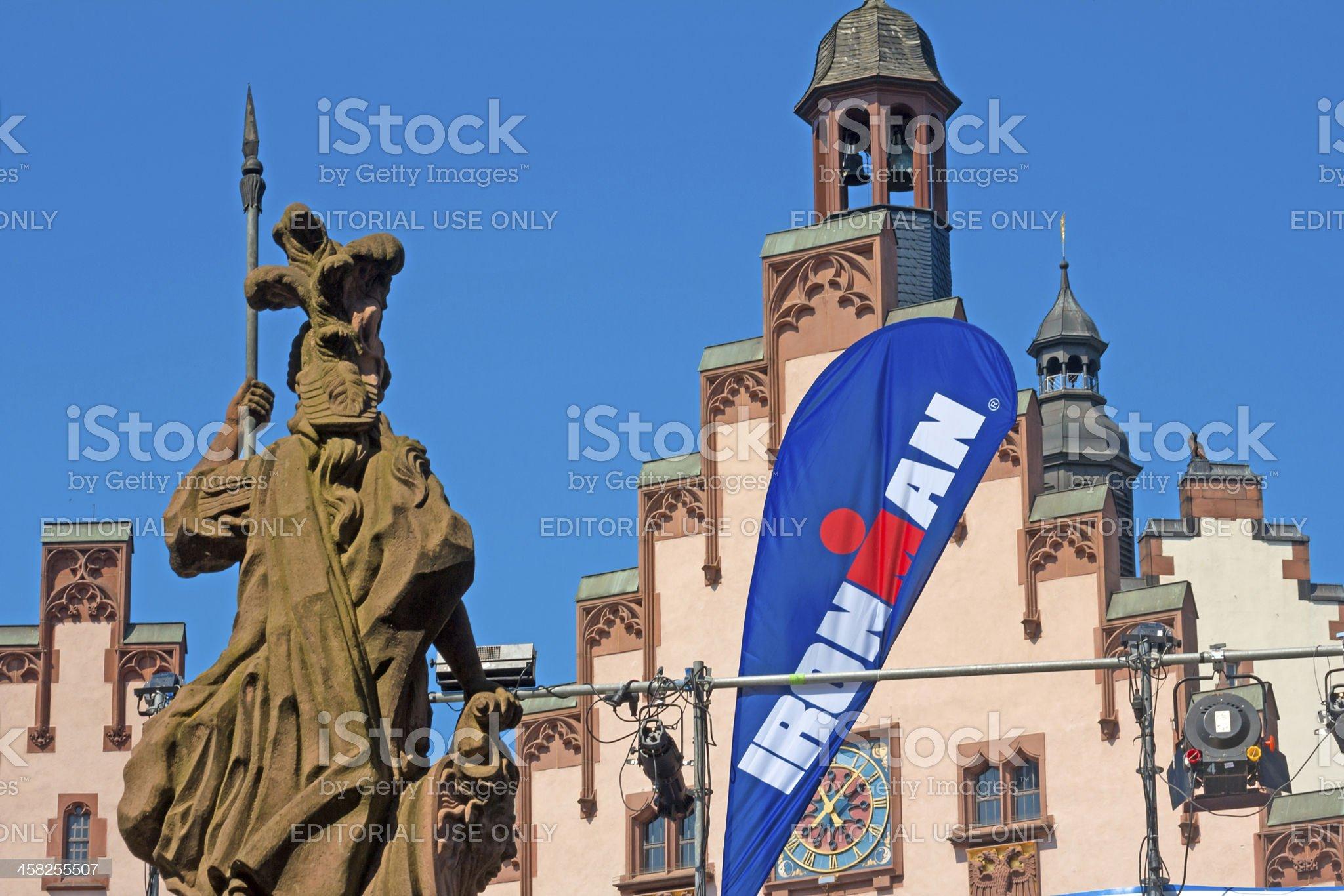 Frankfurt Ironman Championship 2013 royalty-free stock photo
