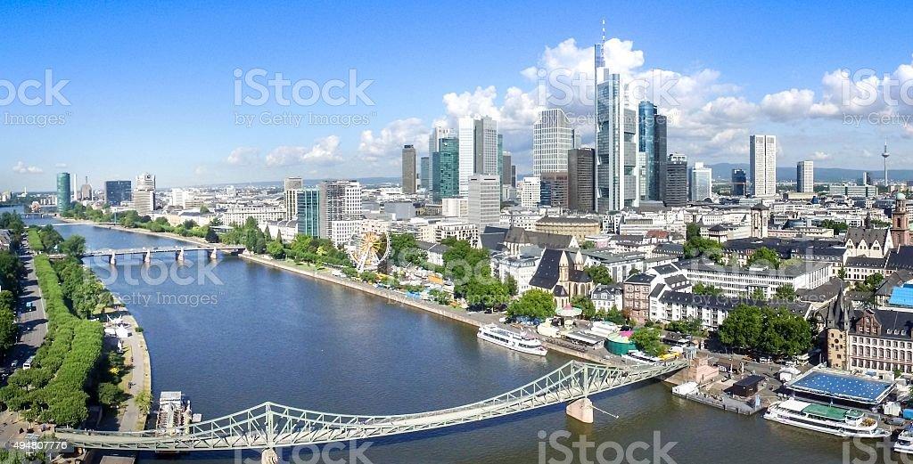 Frankfurt / Main Skyline stock photo