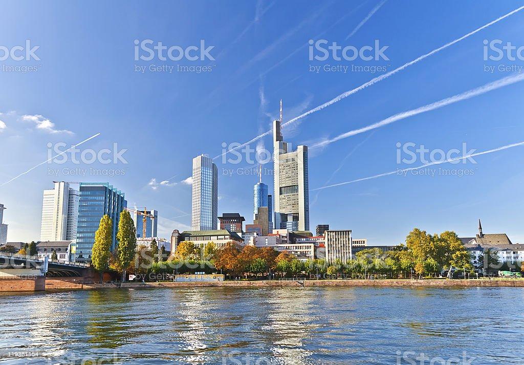 Frankfurt royalty-free stock photo