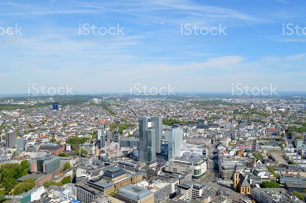 Frankfurt stock photo