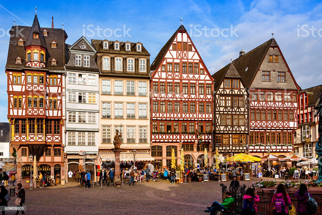 Frankfurt R?mer stock photo