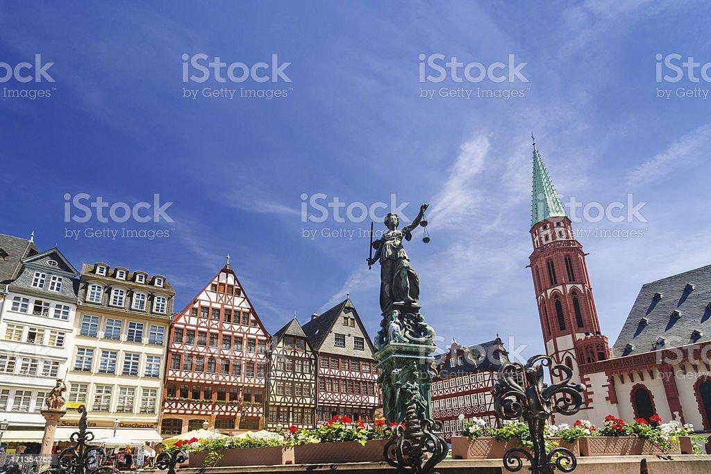 Frankfurt Römerberg stock photo