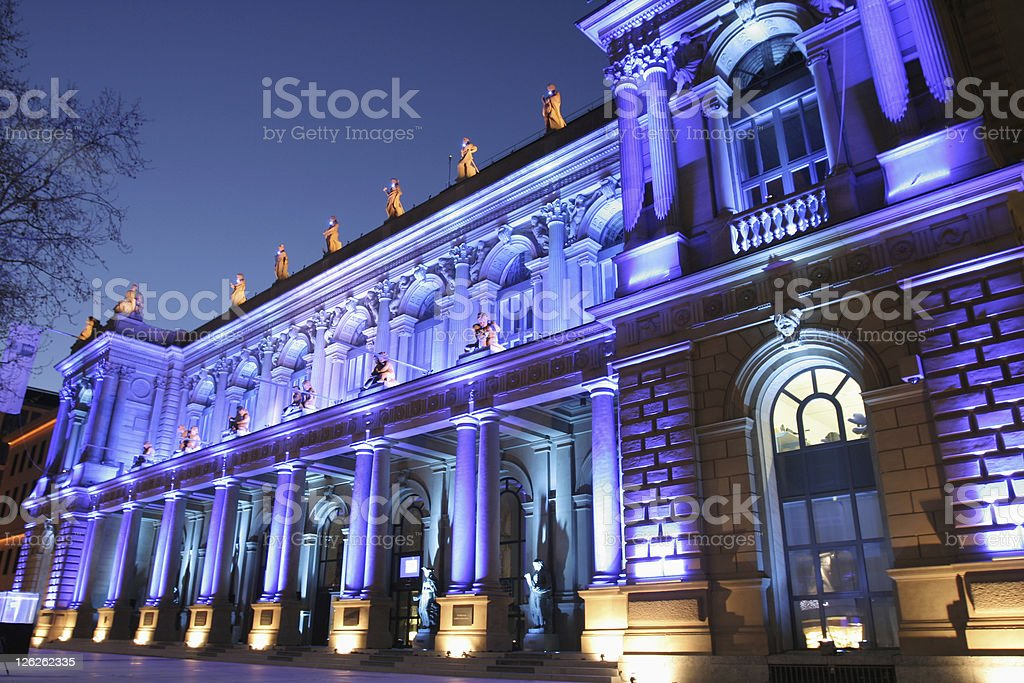 Frankfurt Stock Exchange royalty-free stock photo