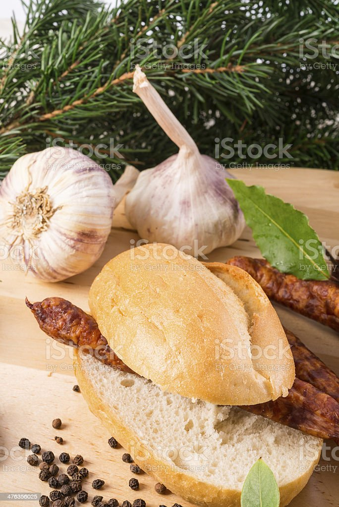 frankfurterki world to known and beloved thin small sausages royalty-free stock photo