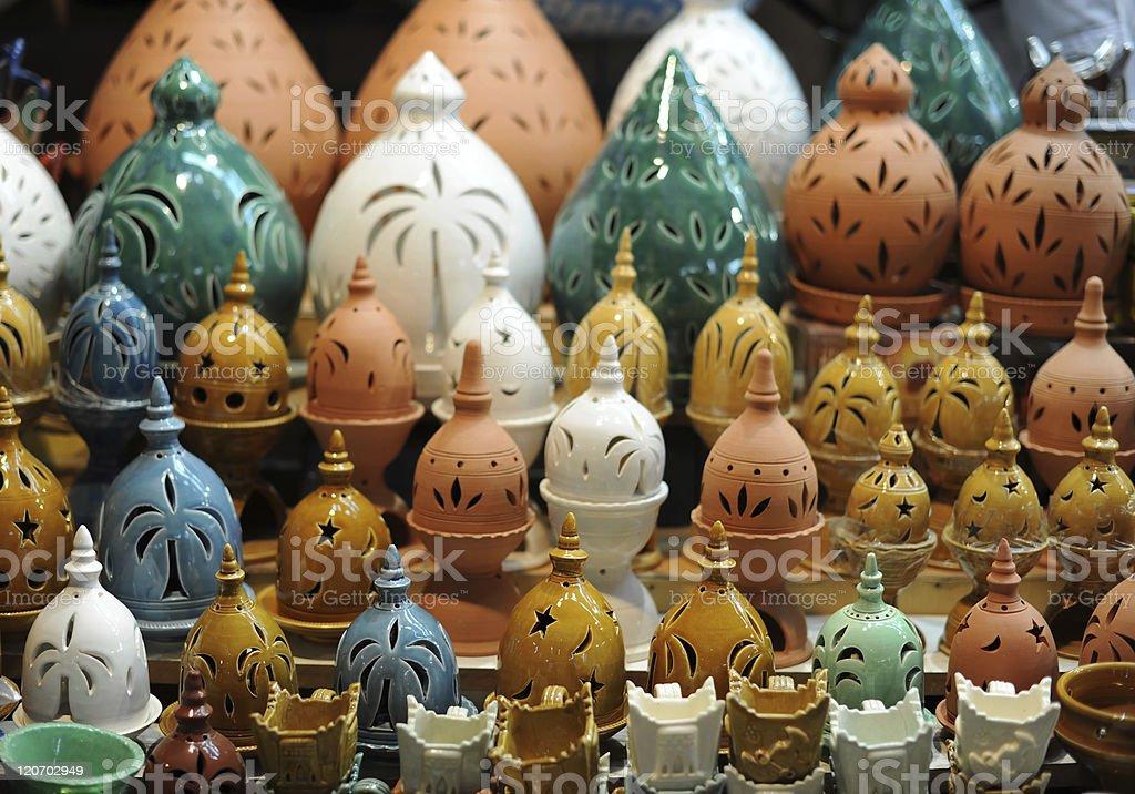 frankincense burner stock photo