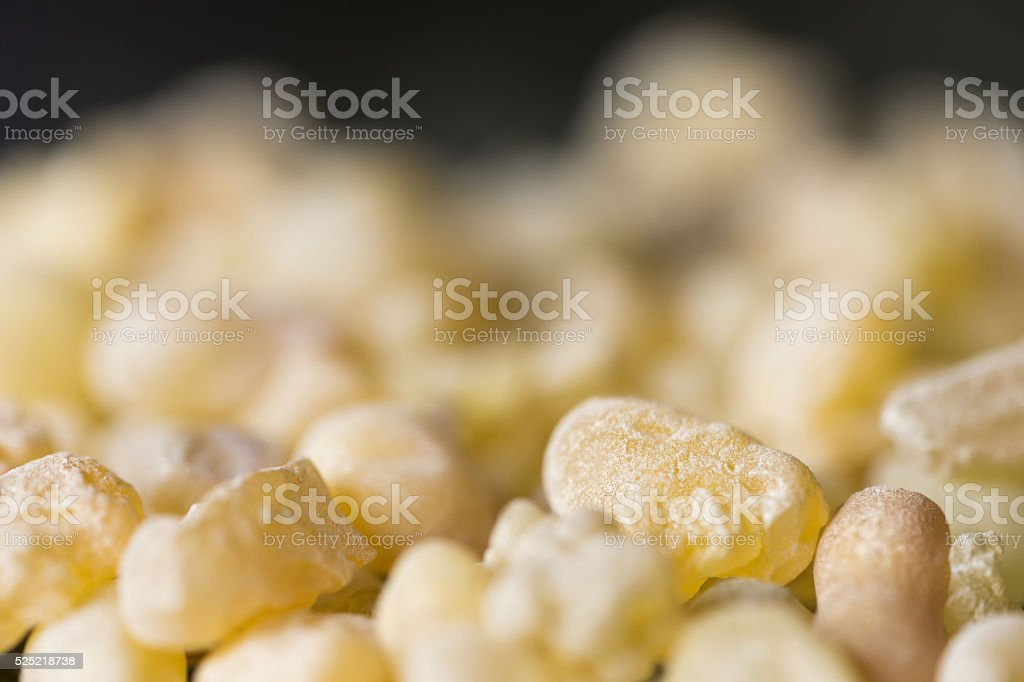 Frankincense Close-Up stock photo