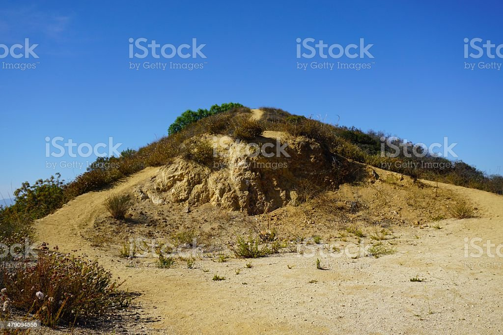 Franklin Canyon Peak stock photo