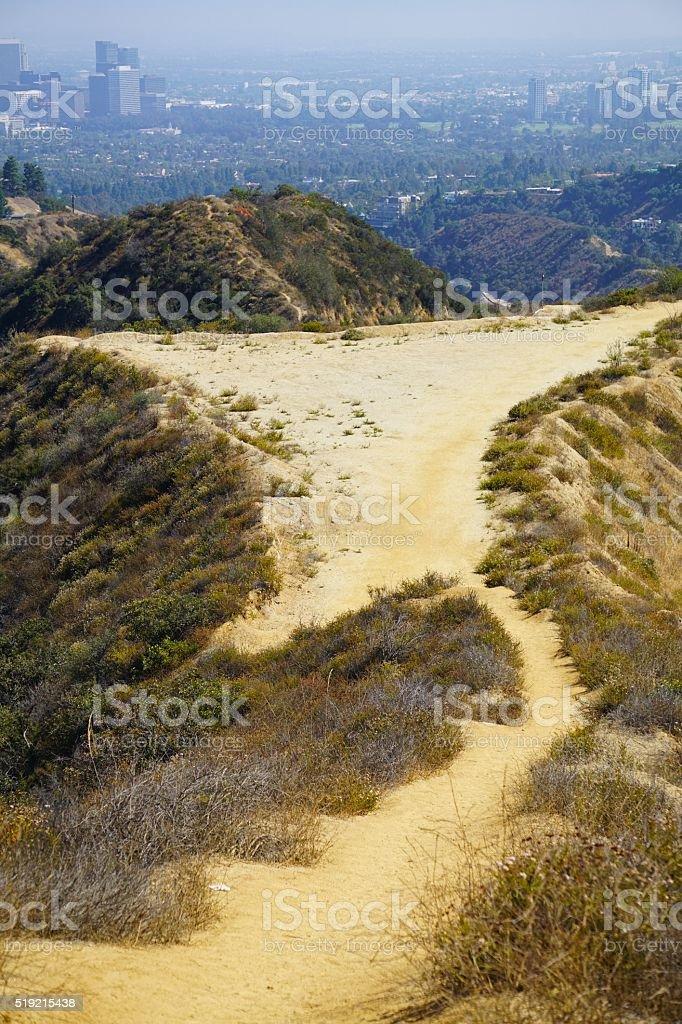 Franklin Canyon stock photo