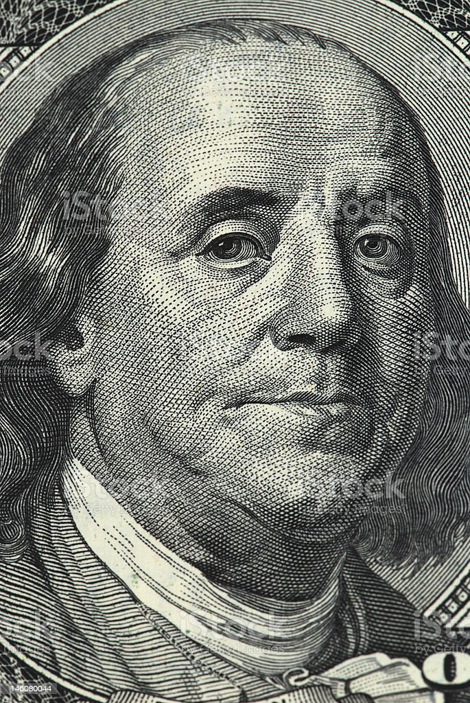 Franklin royalty-free stock photo