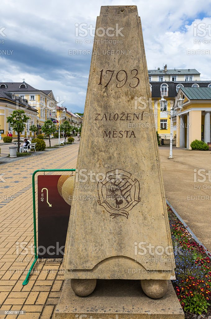 Frantiskovy Lazne.(Czech Republic) royalty-free stock photo