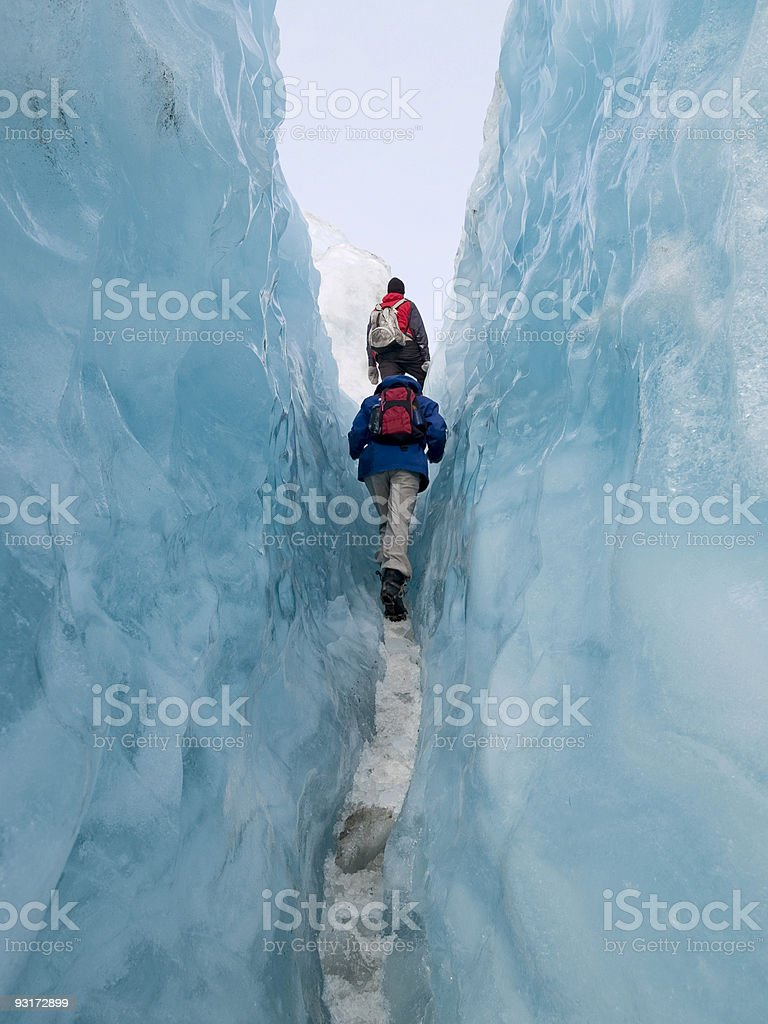 Franz Josef Glacier royalty-free stock photo