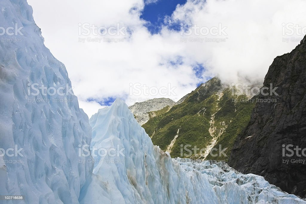 Franz Joseph Glacier royalty-free stock photo