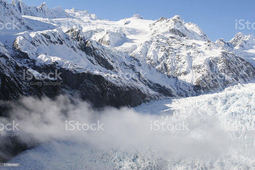 Franz Joseph Glacier stock photo