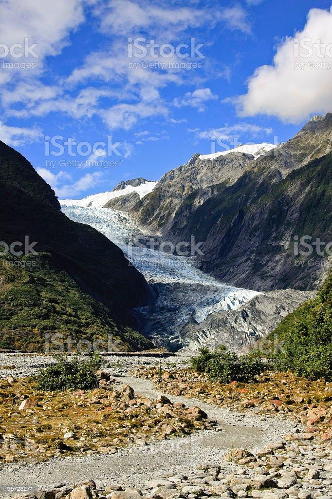 Franz Joseph Glacier royalty-free stock photo