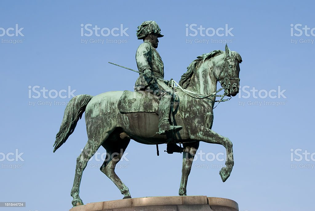 Franz Joseph I royalty-free stock photo