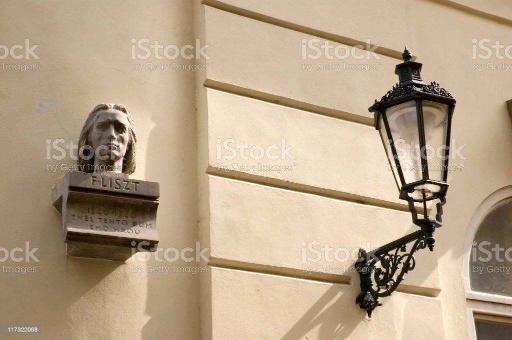 Franz Liszt royalty-free stock photo
