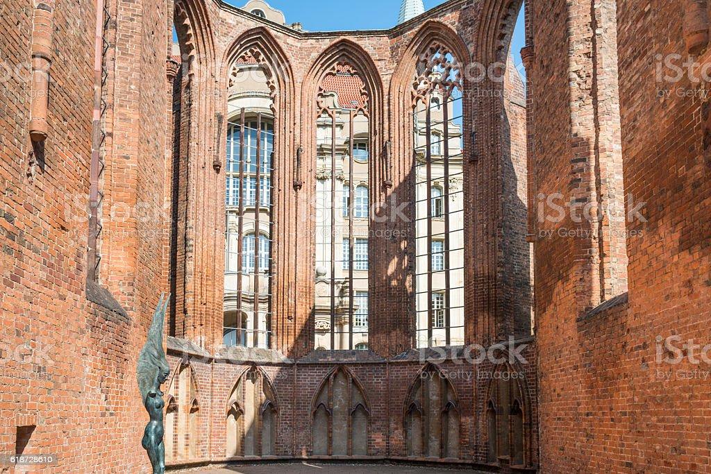 Franziskaner Klosterkirche Berlin stock photo