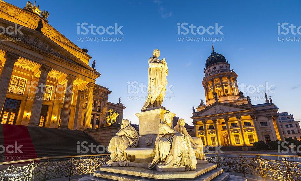 Franzosischer Dom, Gendarmenmarkt, Berlin, Germany royalty-free stock photo