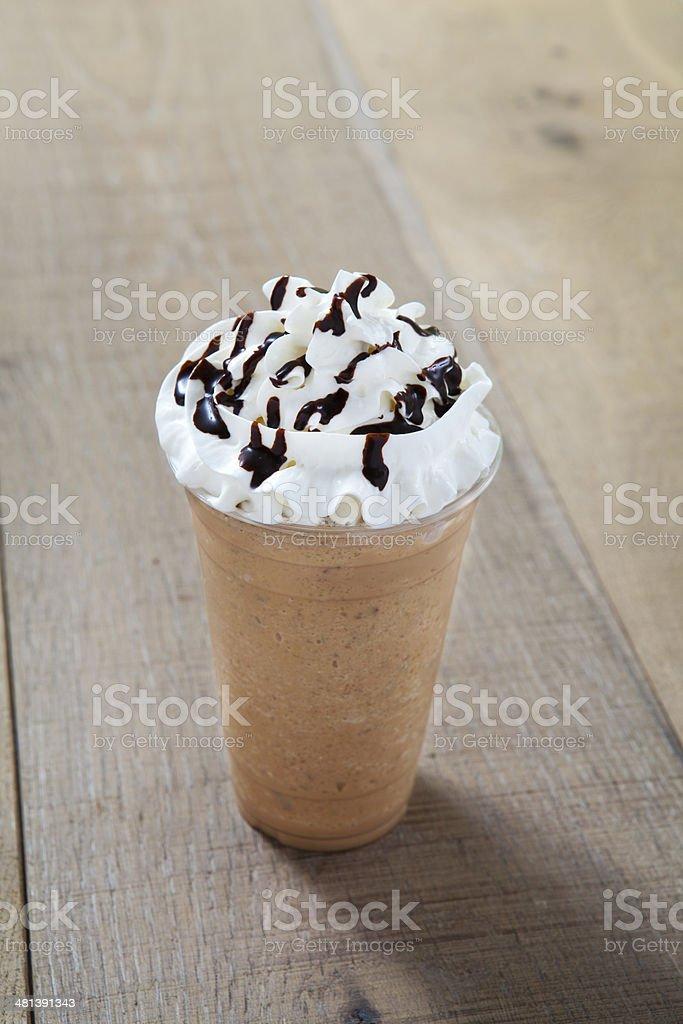frappuccino stock photo