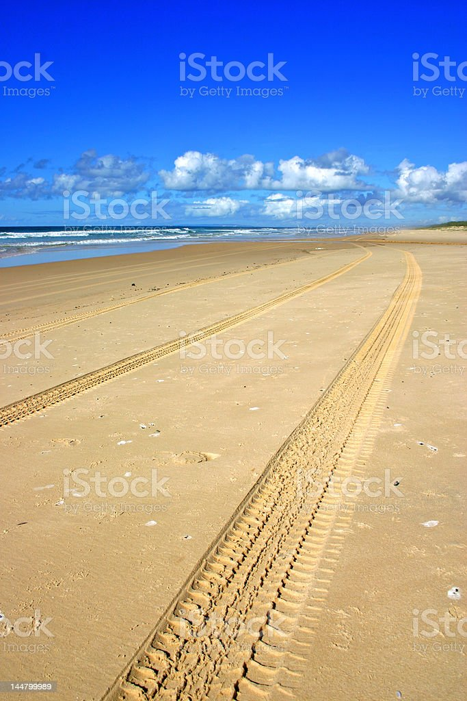 Fraser Island, Australia royalty-free stock photo
