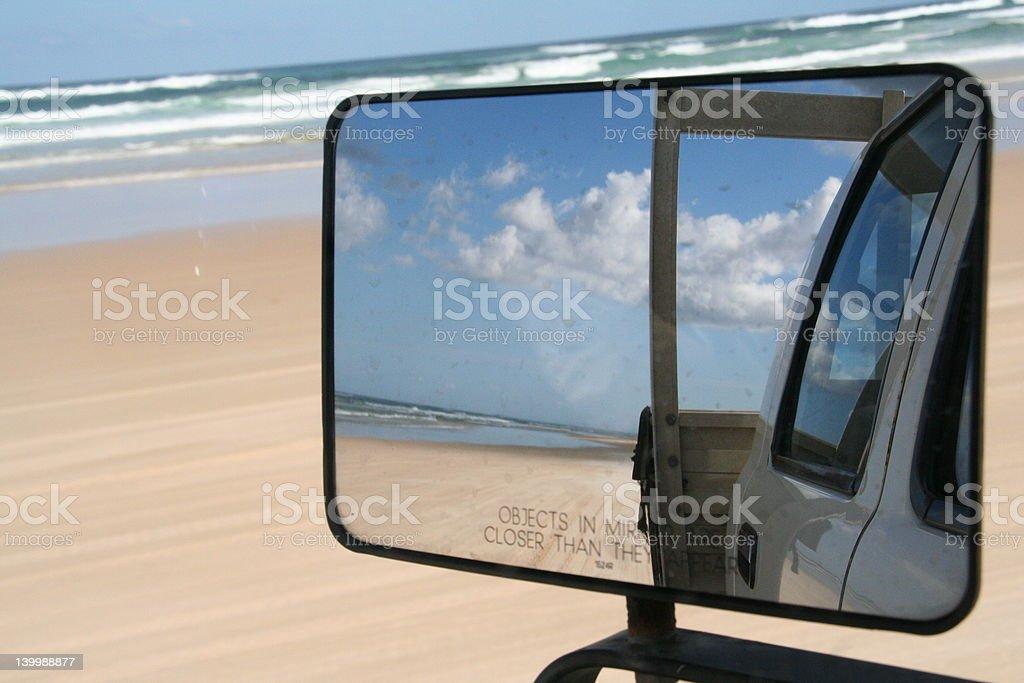 Fraser reflection stock photo