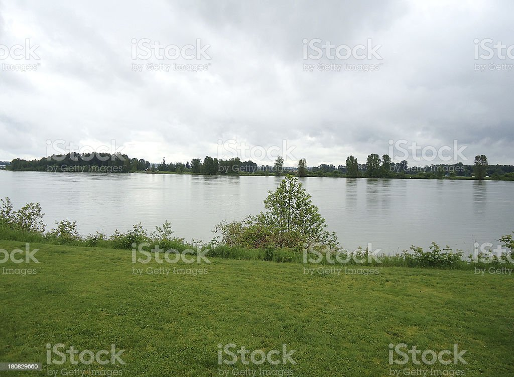 Fraser River stock photo