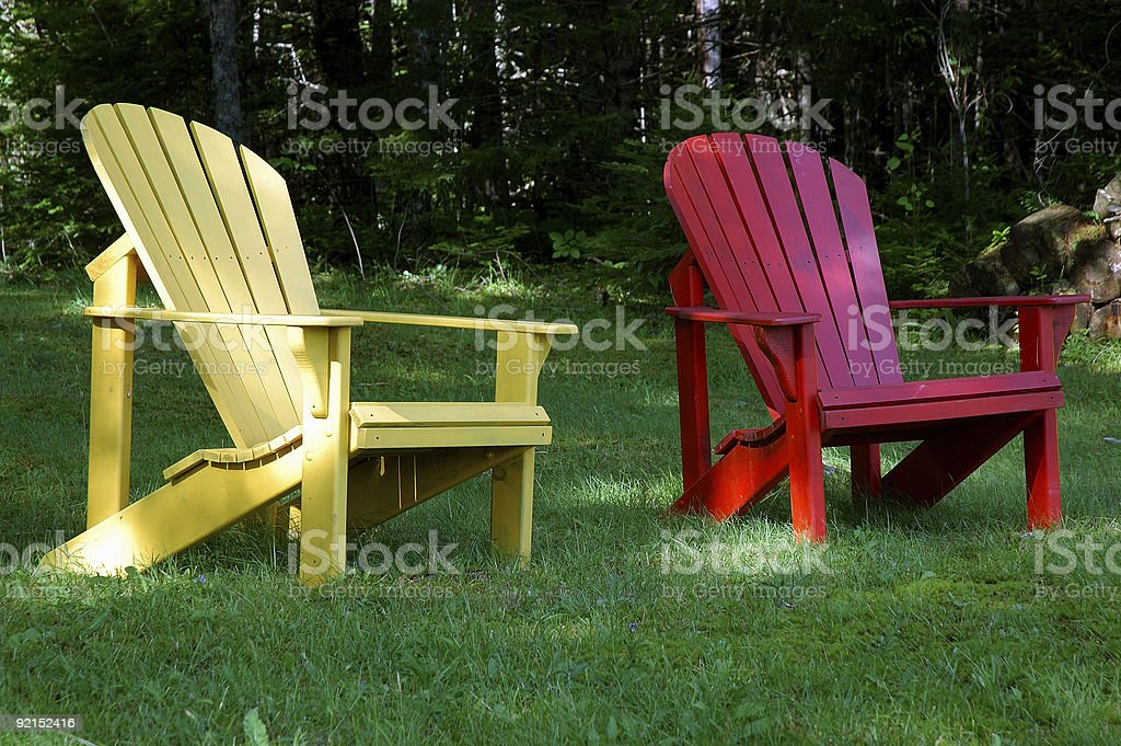 fraternal wooden twins stock photo