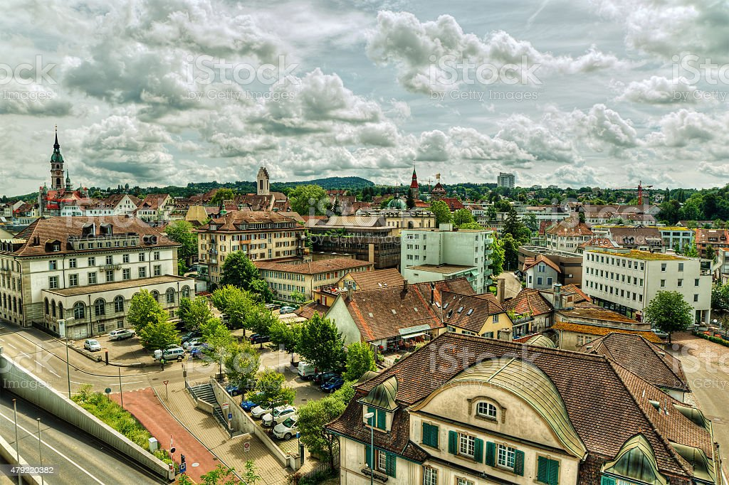 Frauenfeld HDR stock photo