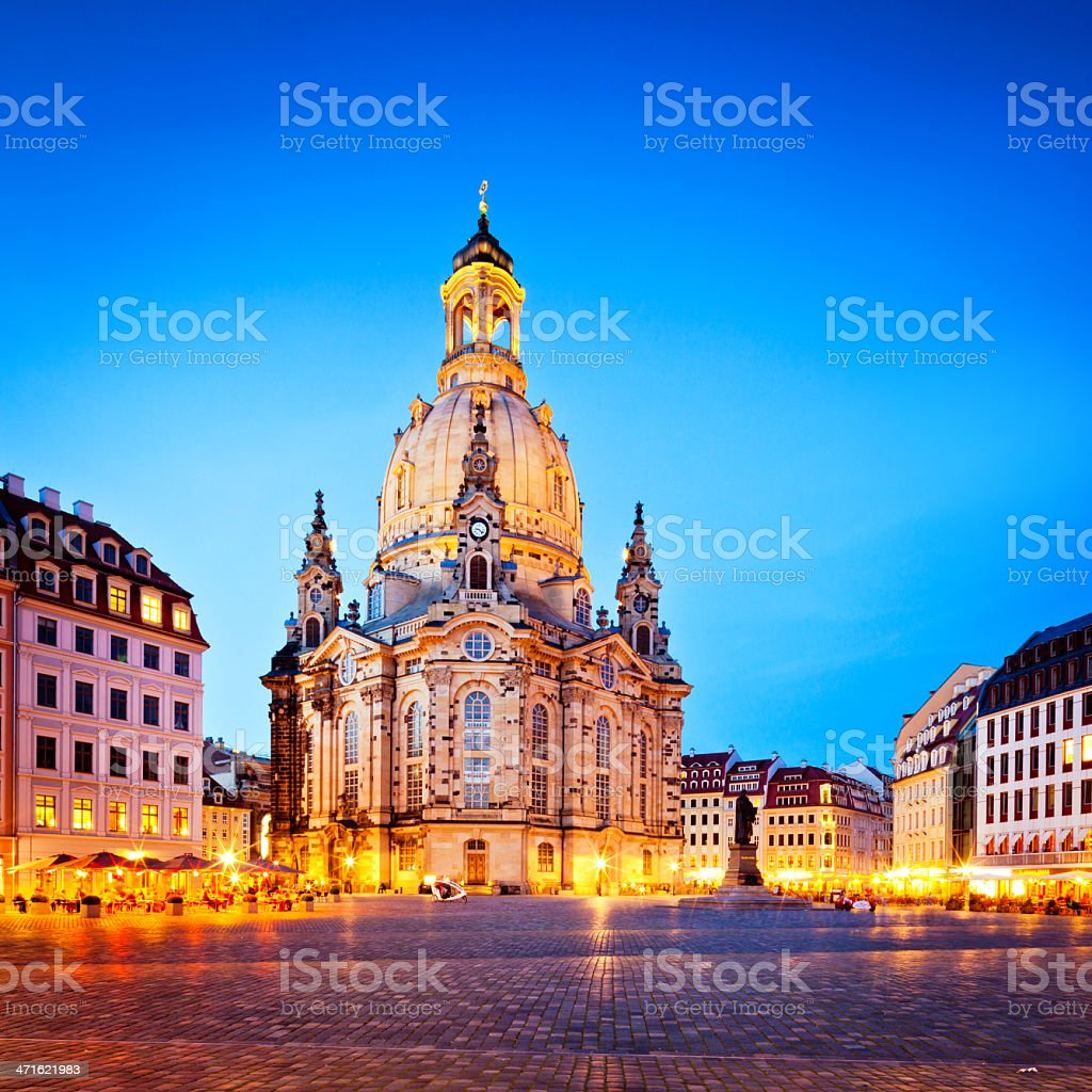 Frauenkirche - Dresden, Germany royalty-free stock photo
