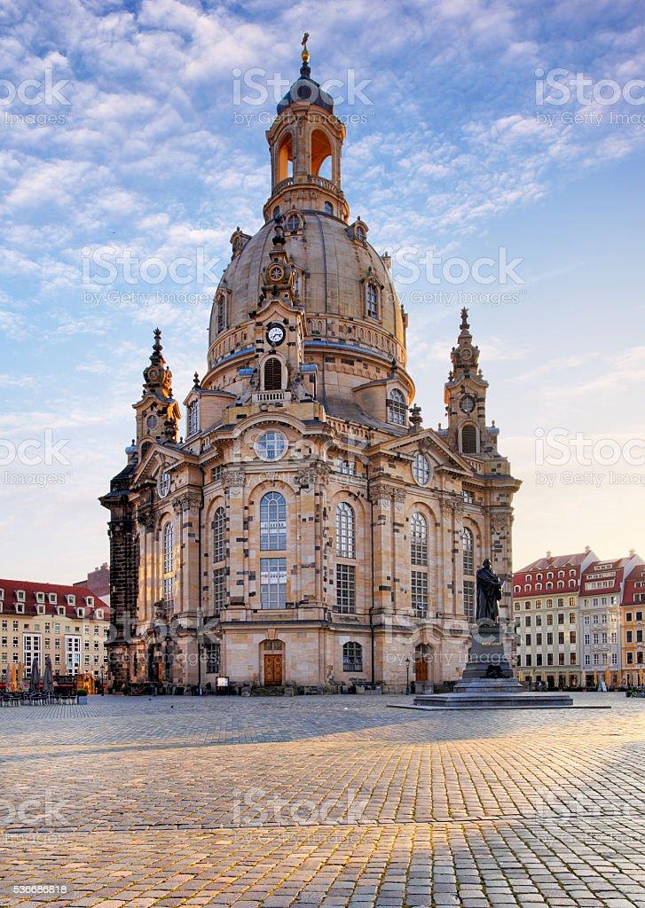 Frauenkirche - Dresden, Germany stock photo