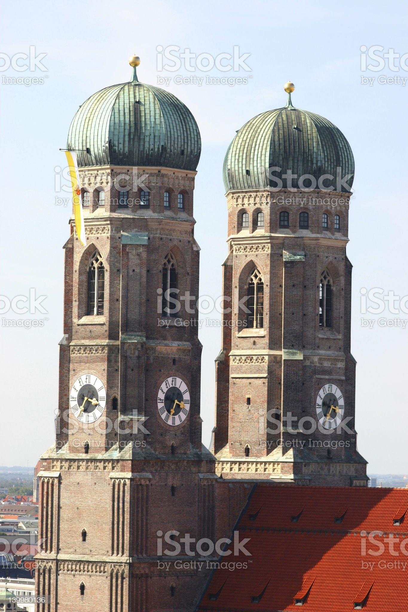 frauenkirche royalty-free stock photo