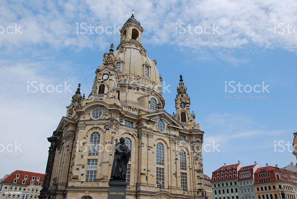 Frauenkirche stock photo