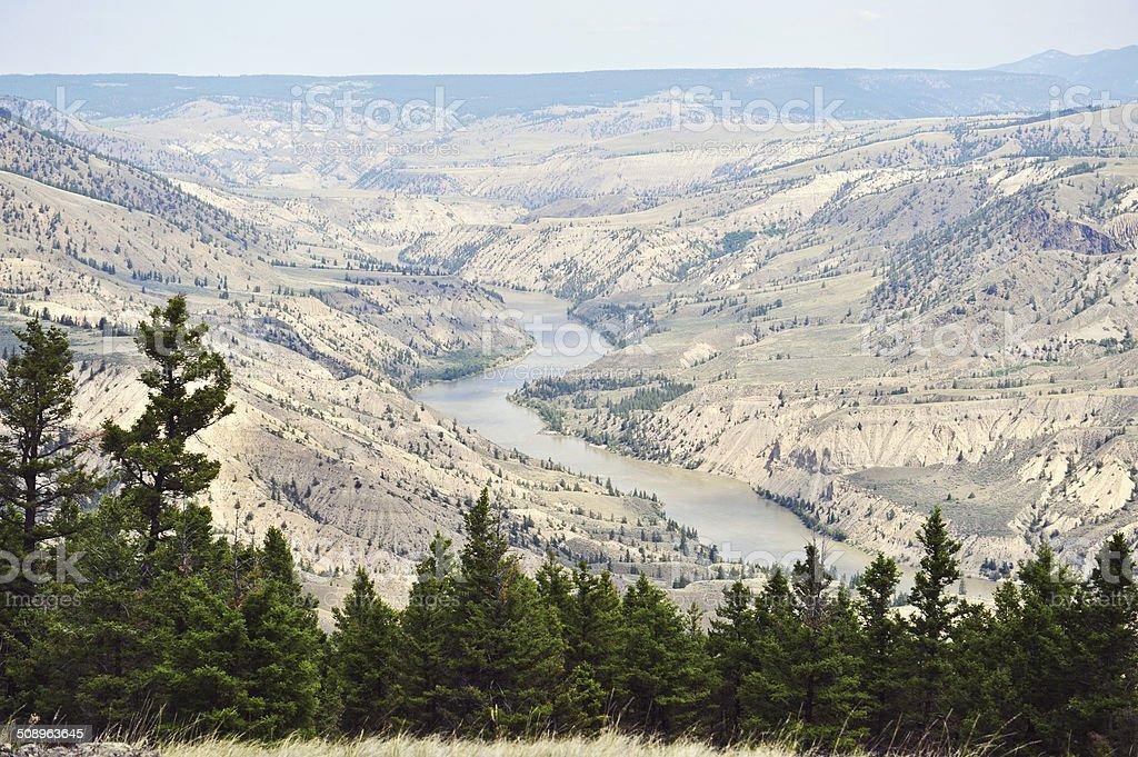 Frazer River stock photo
