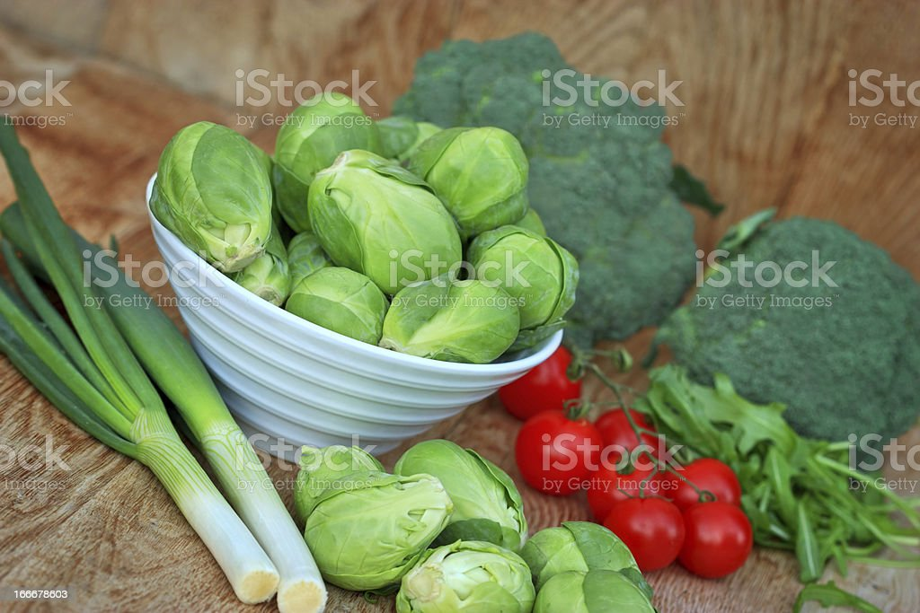 Freash vegetables royalty-free stock photo