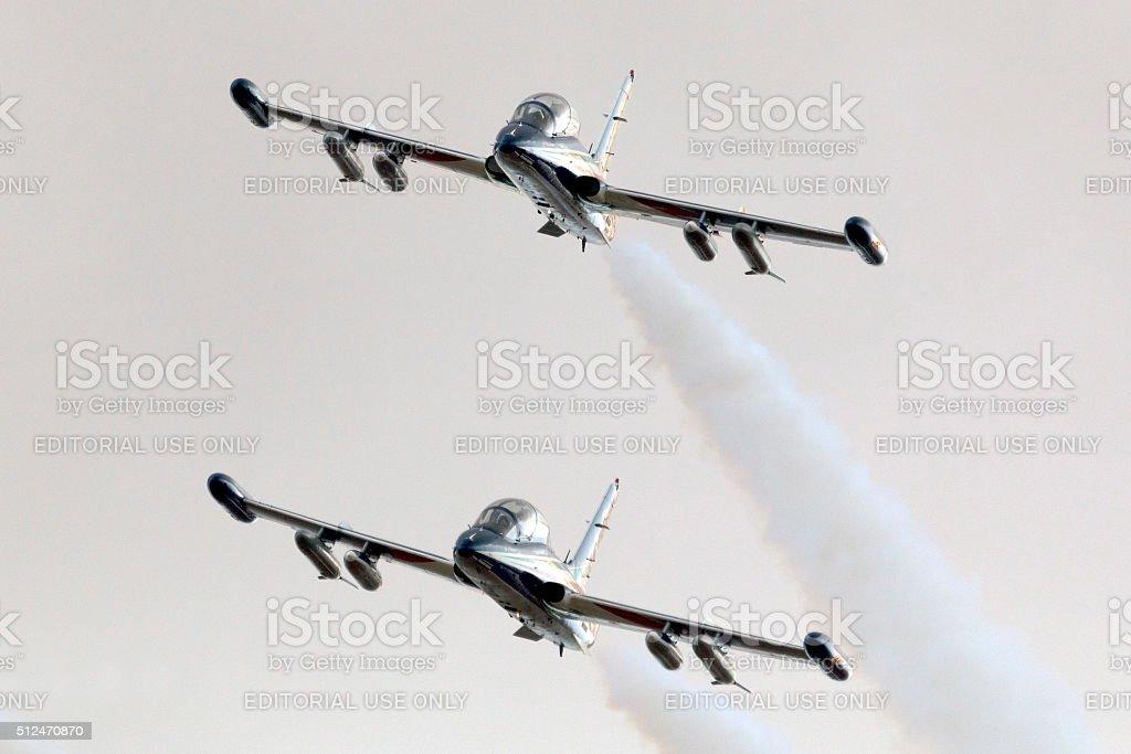 Frecce Arrival stock photo