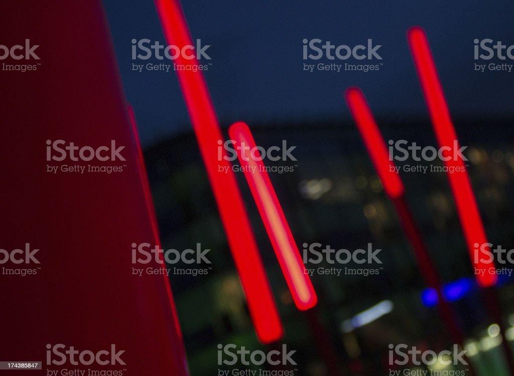 frecce luminose stock photo