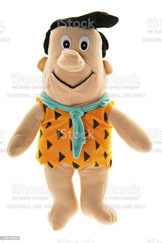 Fred Flintstone stock photo