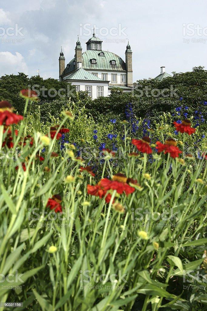 fredensborg rosegarden, royalty-free stock photo