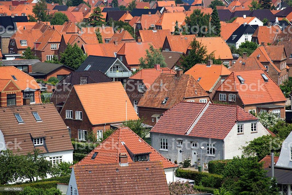 Fredericia stock photo