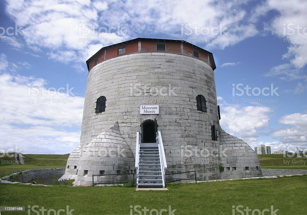Frederick Tower, 1846 royalty-free stock photo