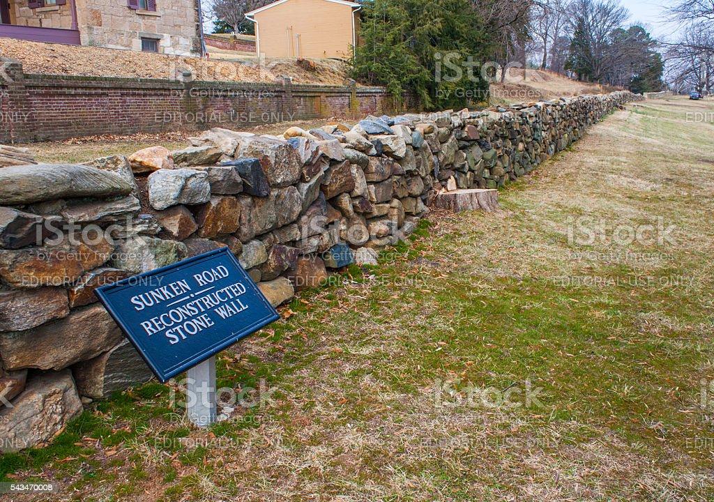 Fredericksburg and Spotsylvania National Military Park - stock photo